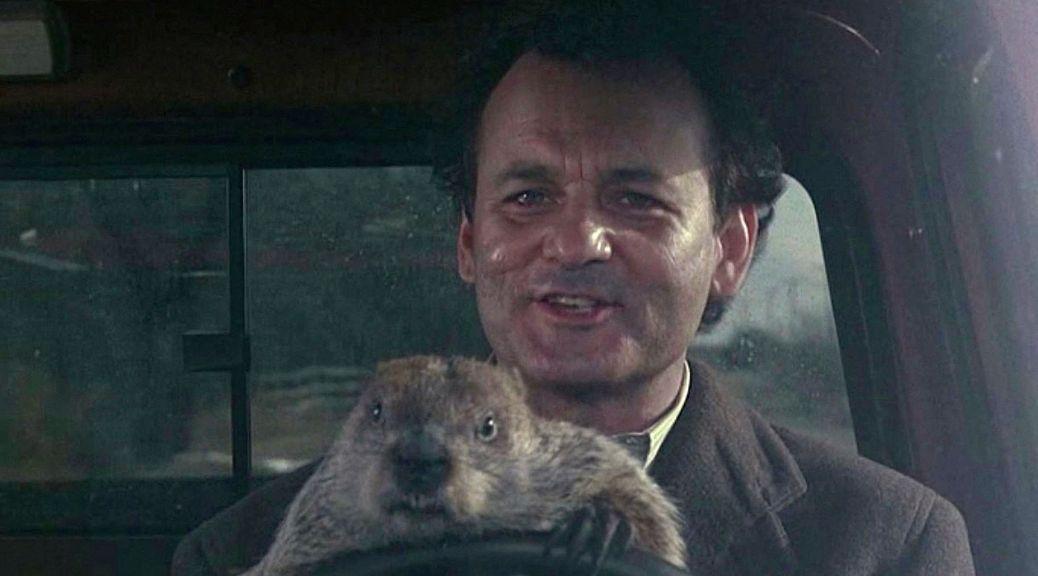 Bill Murray, Groundhog Day, Punxsatawney Phil