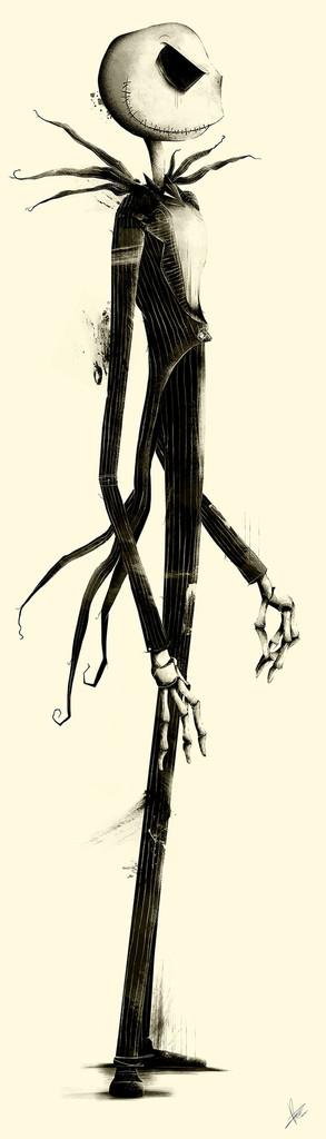 Fantastic Tim Burton Character Tribute Art