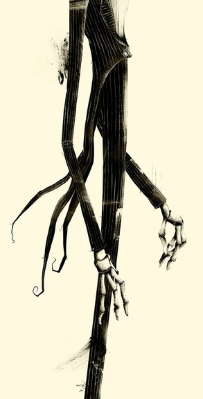 Jack Skellington, The Nightmare Before Christmas, Tim Burton
