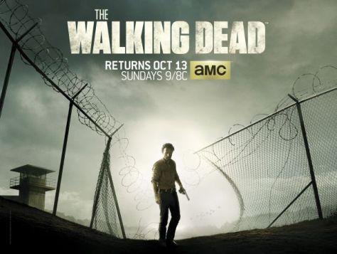 The Walking Dead, Andrew Lincoln, Rick Grimes, The Walking Dead Season Four