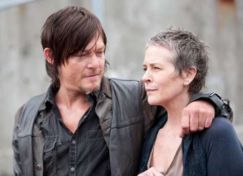 Darryl Dixon, Carol, The Walking Dead
