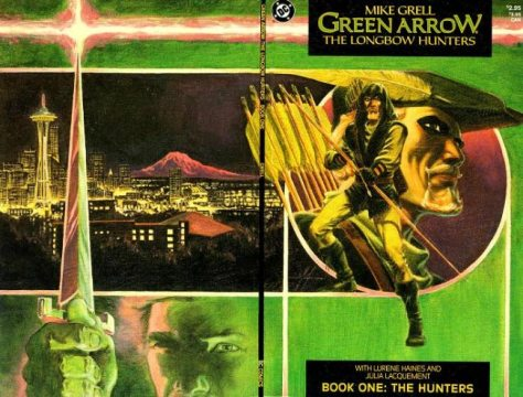 Green Arrow, Longbow Hunters, Mike Grell