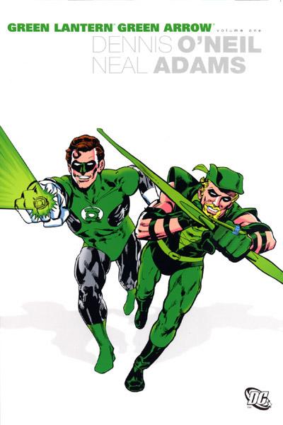 Green Arrow, Green Lantern, Denny O'Neil, Neal Adams