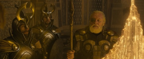 Thor, Thor 2, Thor the Dark World, Marvel, Odin, Anthony Hopkins