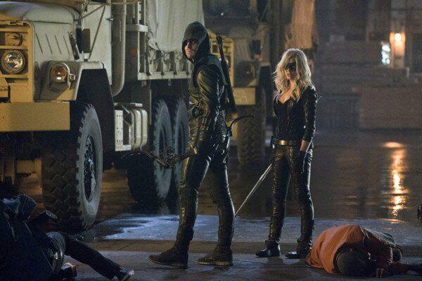 Arrow, Caity Lotz, Green Arrow, Black Canary, Stephen Ammel,