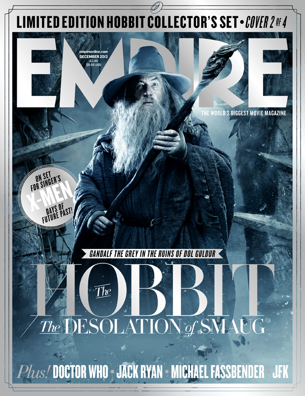 Empire Debuts Five Collector's Covers for The Desolation of Smaug