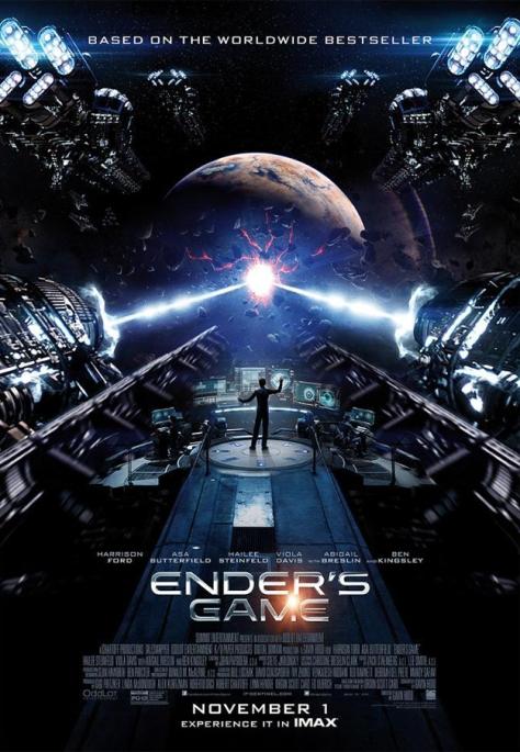 Ender's Game, IMAX, Ender's Game IMAX Poster