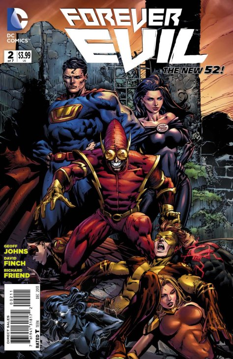 Forever Evil, David Finch, Geoff Johns