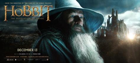 Gandalf, Ian McKellan, The Hobbit The Desolation of Smaug