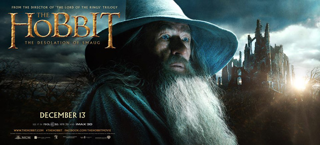 Gandalf, Ian McKellan, The Hobbit The Desolation of Smaug