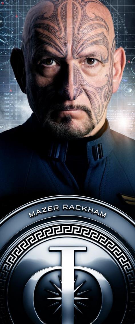 Mazer Rackham, Ben Kingsley, Ender's Game
