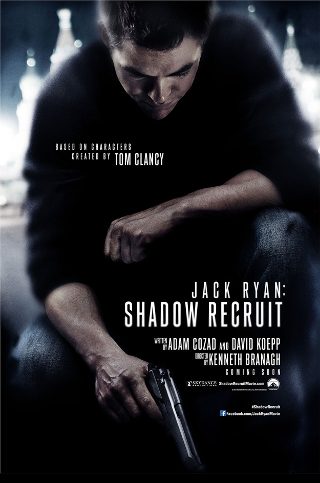 Jack Ryan, Jack Ryan Shadow Recruit, Chris Pine, Tom Clancy
