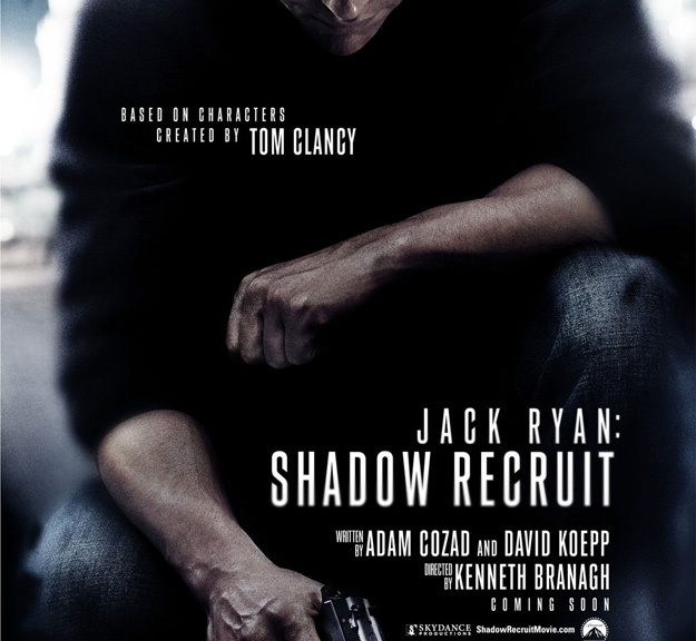 Jack Ryan, Jack Ryan Shadow Recruit, Chris Pine, Tom Clancy
