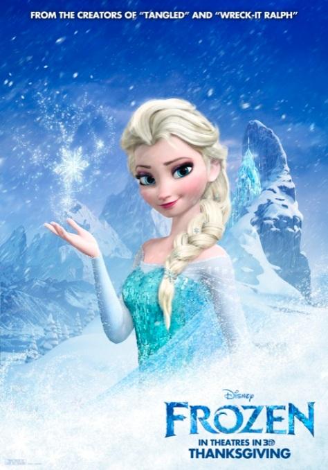 Frozen, Disney, Princess Elsa