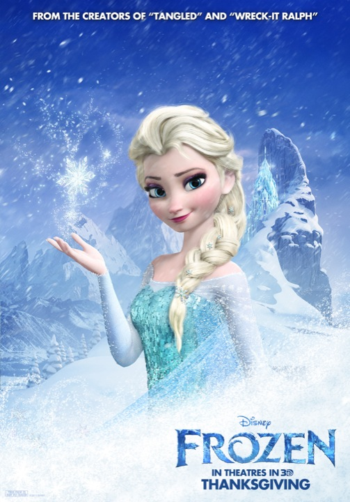 Four New Posters for Walt Disney's Frozen | Killing Time