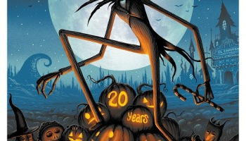 My favorite scene tim burtons the nightmare before christmas disney commissions 20th anniversary nightmare before christmas posters voltagebd Image collections