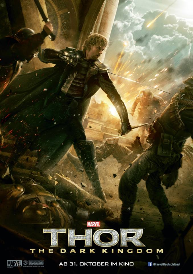 Thor The Dark World Volstagg and Fandral One-Sheets ...
