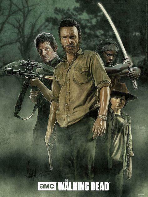 The Walking Dead, Andrew Lincoln, AMC, Darryl Dixon, Michonne