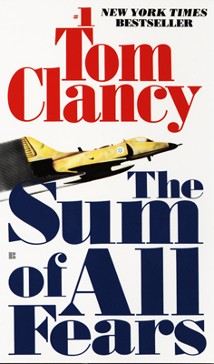 The Sum of All Fears, Tom Clancy, Jack Ryan