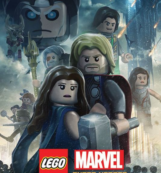 Thor, Thor The Dark World, LEGO Poster for Thor the Dark World