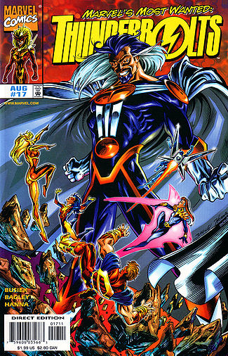 Thunderbolts 17, Graviton