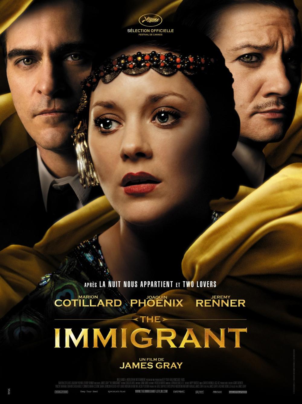 The Immigrant, Joaquin Phoenix, Marion Cotillard, Jeremy Renner