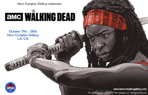 The Walking Dead, AMC, Michonne