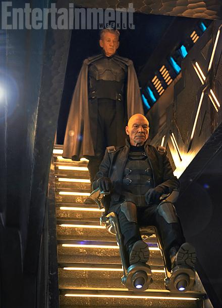X-Men, Marvel, Mutants, X-Men Days of Future Past, Bryan Singer, Professor Xavier, Charles Xavier, Erik Lenssher, Magneto, Ian McKellan