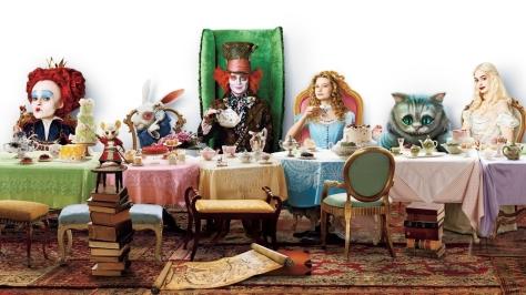 Alice in Wonderland, Johnny Depp, Helena Bonham Carter
