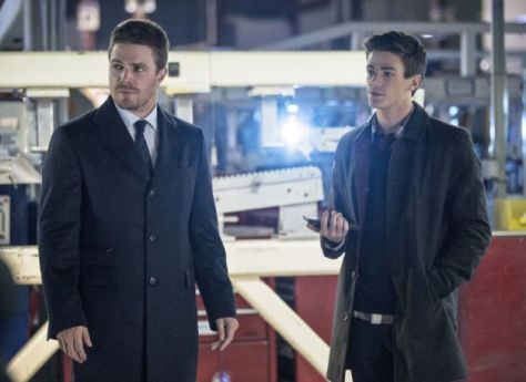 Arrow, The Flash, Oliver Queen, Barry Allen, Stephen Amell