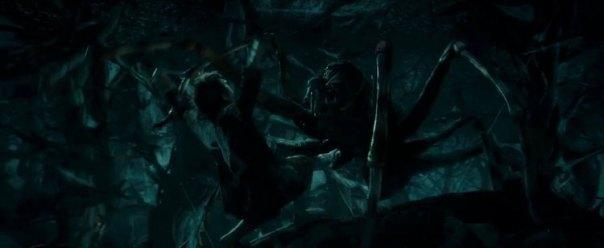 The Hobbit The Desolation of Smaug, Martin Freeman, Bilbo Baggins, Spiders of Mirkwood