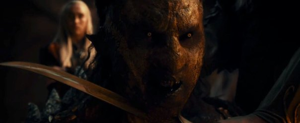 The Hobbit The Desolation of Smaug, Orc, Legolas, Orlando Bloom
