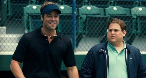 Moneyball, Billy Beane, Jonah Hill, Brad Pitt, baseball