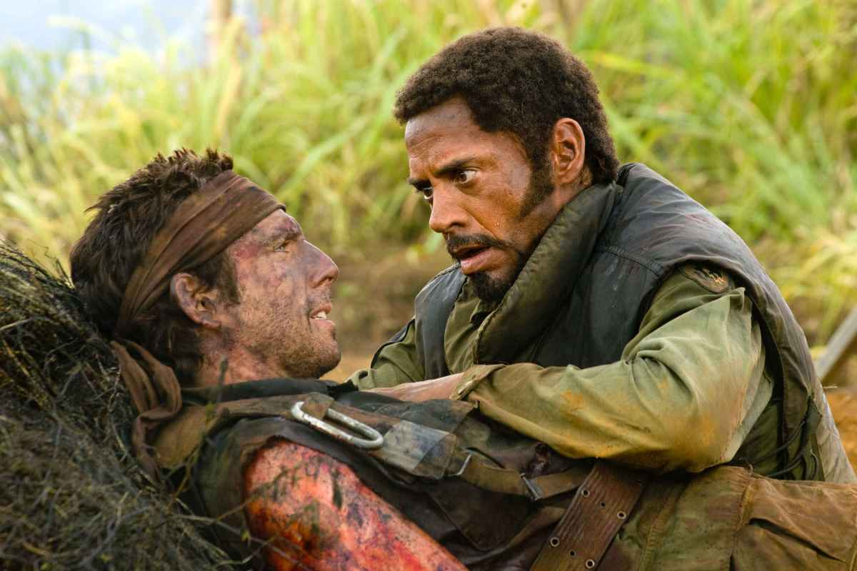 Robert Downey Jr's Sgt. Lincoln Osiris from Tropic Thunder Suffers PPSD