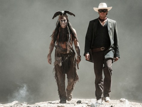 Johnny Depp, Arnie Hammer, The Lone Ranger