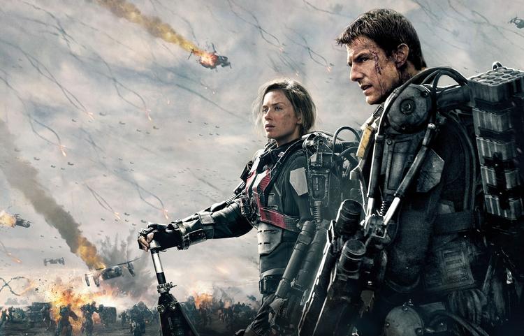 Emily Blunt, Tom Cruise, Edge of Tomorrow