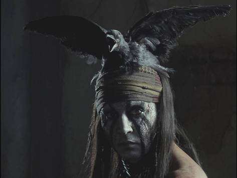 Johnny Depp, Tonto, The Lone Ranger