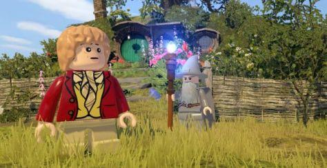 LEGO, LEGO Hobbit, Bilbo Baggins, Gandalf