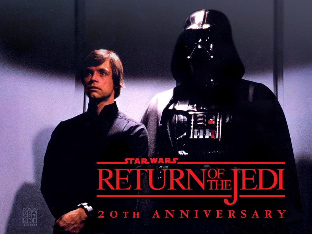 Star Wars, Return of the Jedi, Mark Hamill, Luke Skywalker, Darth Vader