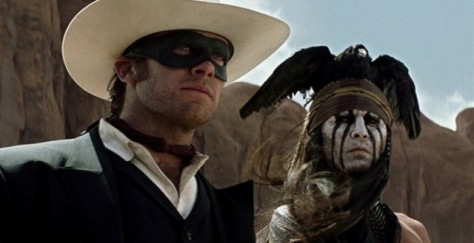 Arnie Hammer, Johnny Depp, The Lone Ranger