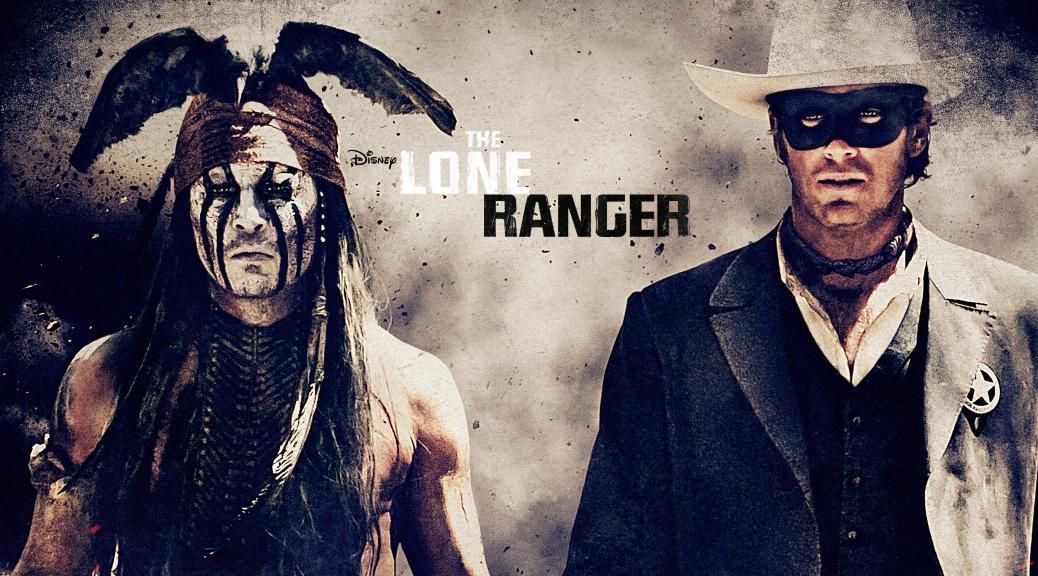 Johnny Depp, Arnie Hammer, The Lone Ranger