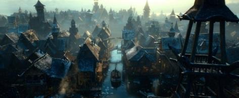The Hobbit The Desolation of Smaug, Lake Town