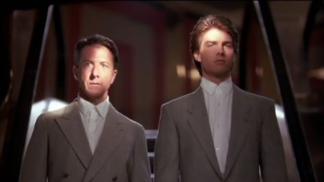Dustin Hoffman, Tom Cruise, Rain Man