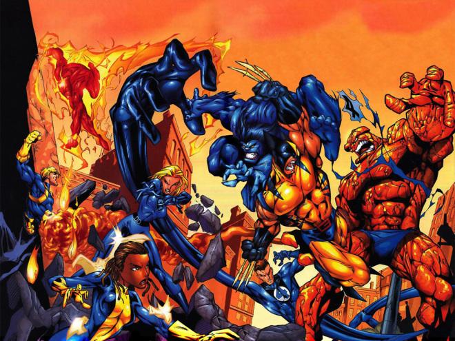 X-Men vs. Fantastic Four Movie Story Revealed (Rumor)