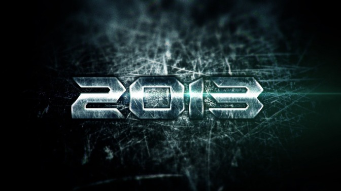 2013: The Year in Movies Supercut