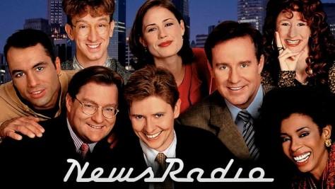 Newsradio, Dave Foley, Stephen Root, Phil Hartman, Joe Rogan, Maura Tierney, Khandi Alexander, Phil Hartman