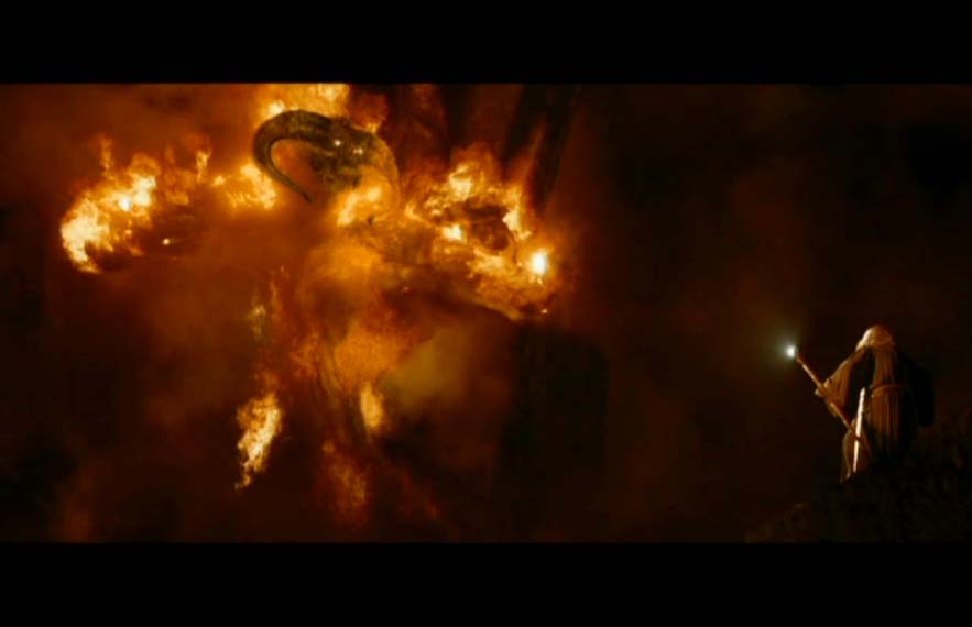 Balrog Scene Lord Of The Rings