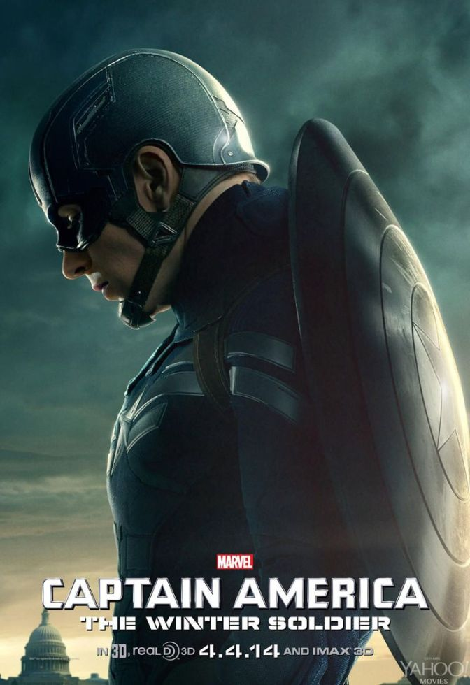 Three Captain America: The Winter Soldier Character Posters