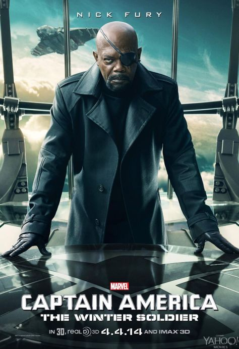Cap, Cap 2, Captain America, Captain America: The Winter Soldier, Nick Fury, Samuel L. Jackson, SHIELD