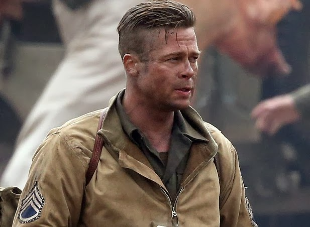 trailer time fury 2014 and first poster from brad pitt